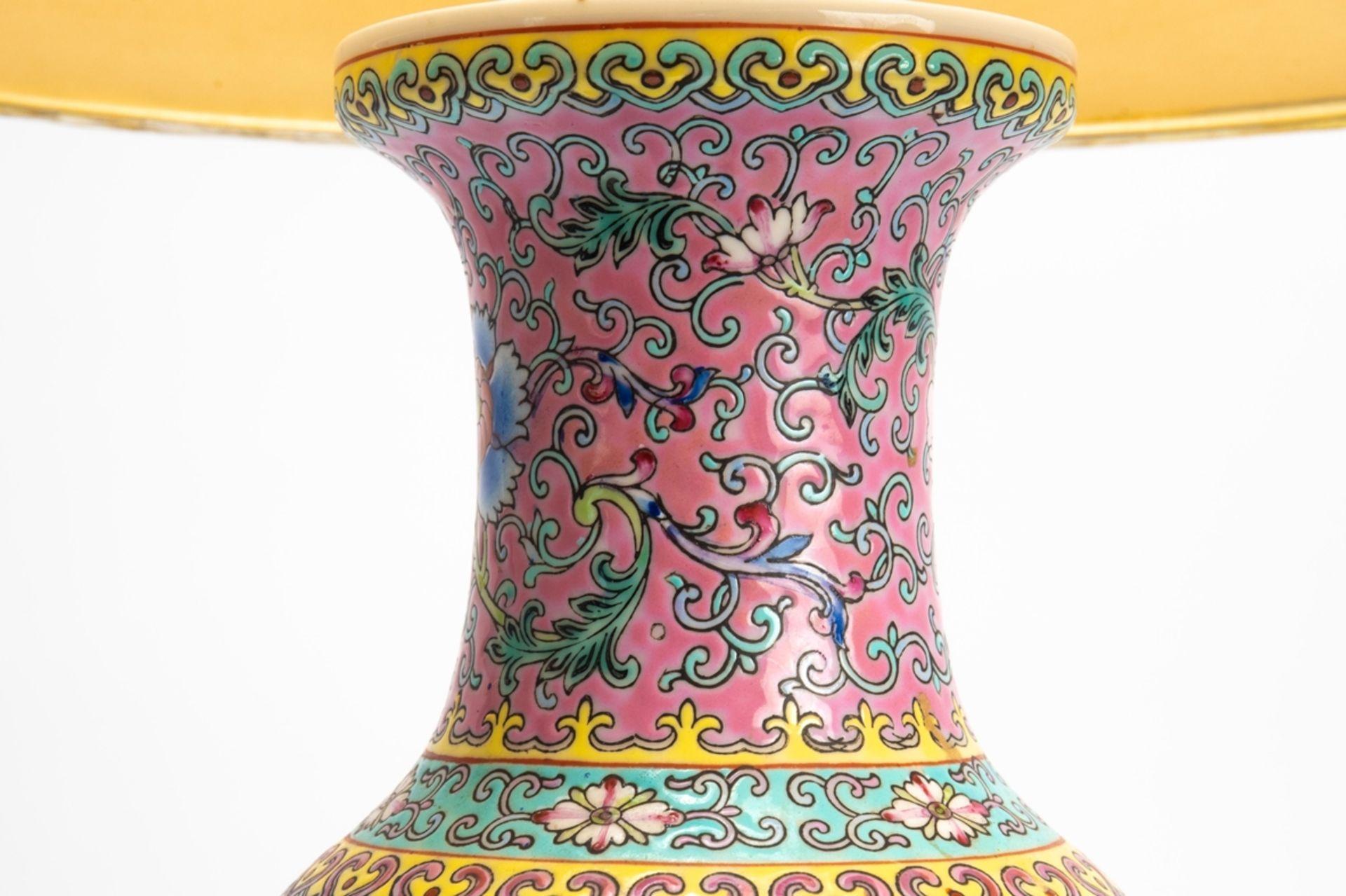 Porzellan-Lampe/Vase - Image 3 of 7