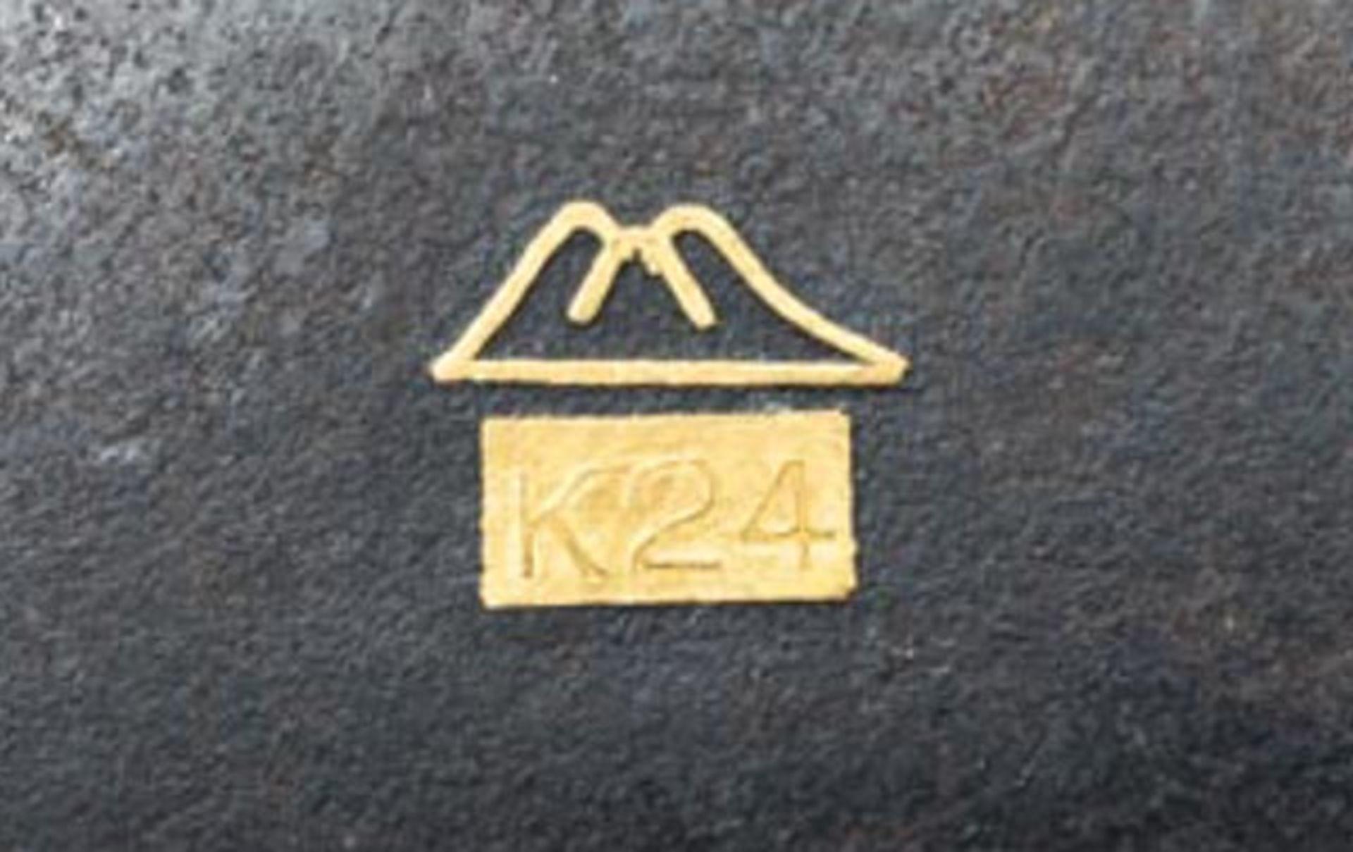 Gold tauschiertes Zigarettenetui - Image 4 of 4