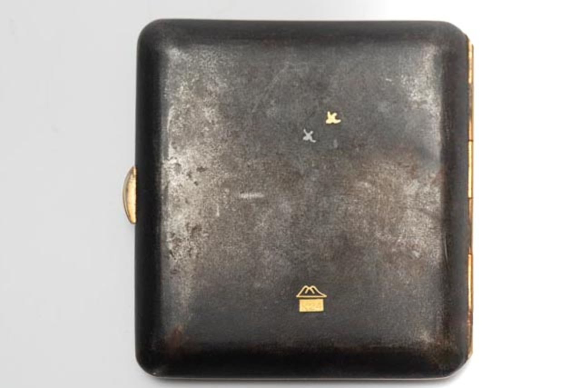Gold tauschiertes Zigarettenetui - Image 2 of 4