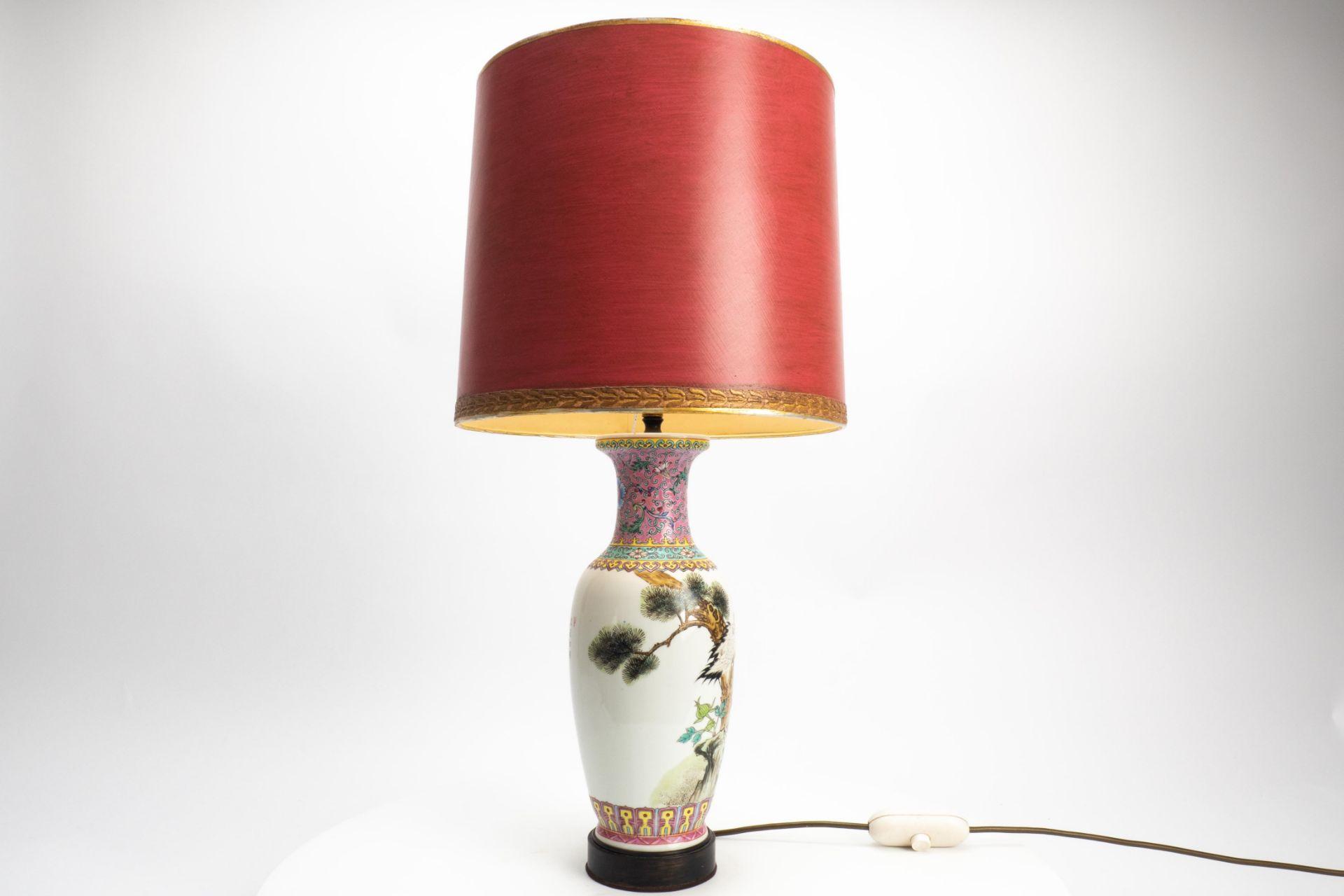 Porzellan-Lampe/Vase - Image 2 of 7