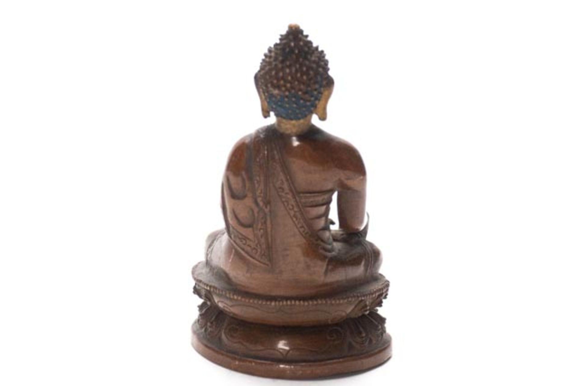 Bronze Buddha - Image 3 of 6