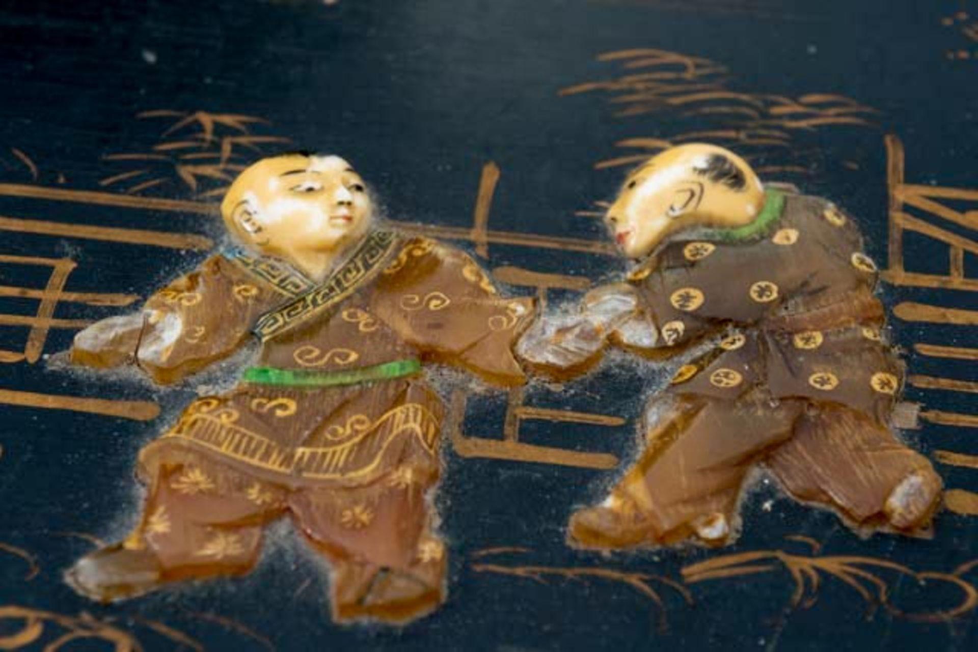 Prunkvolle asiatische Truhe - Image 14 of 17