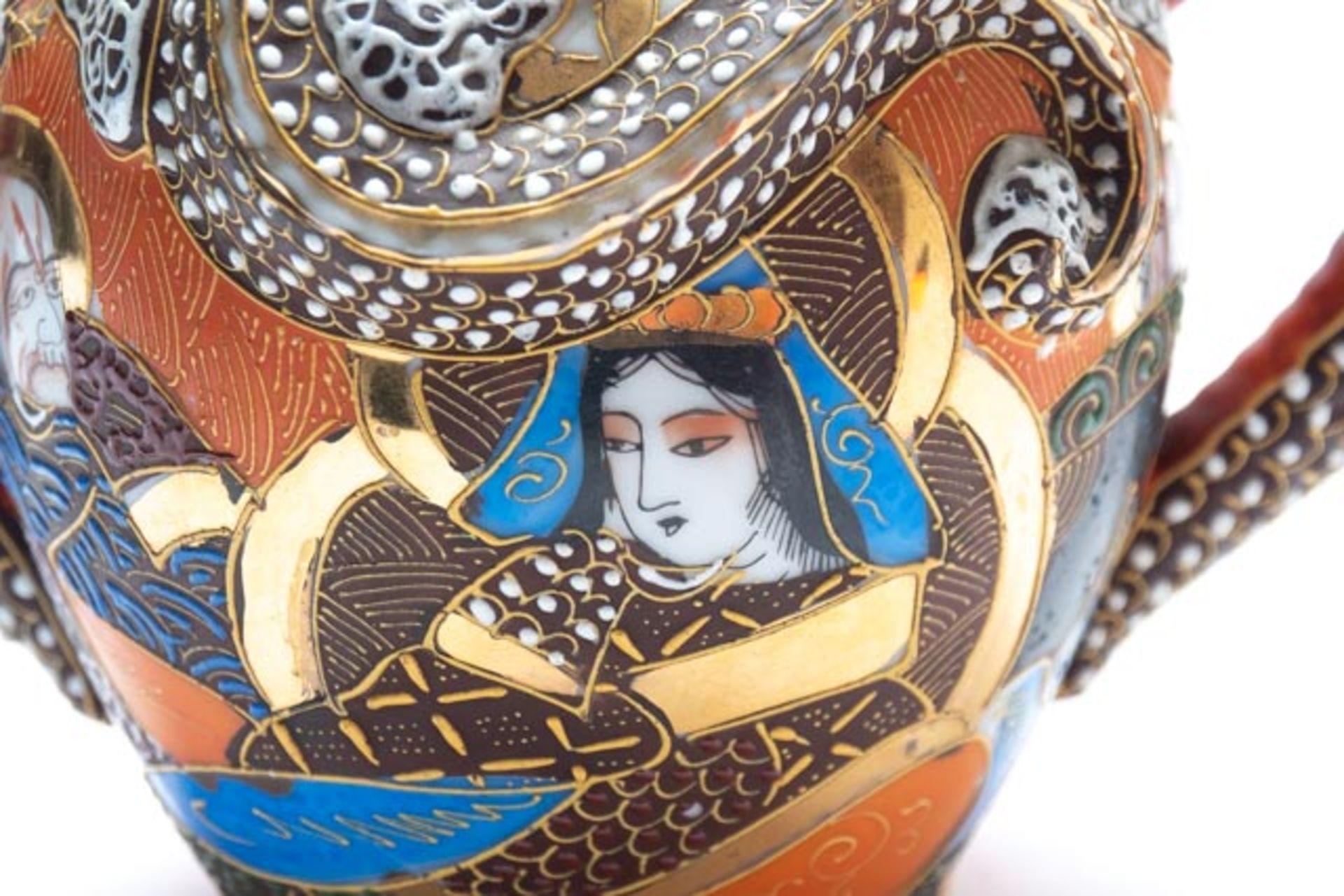 Prunkvolle asiatische Deckeldose - Image 9 of 14