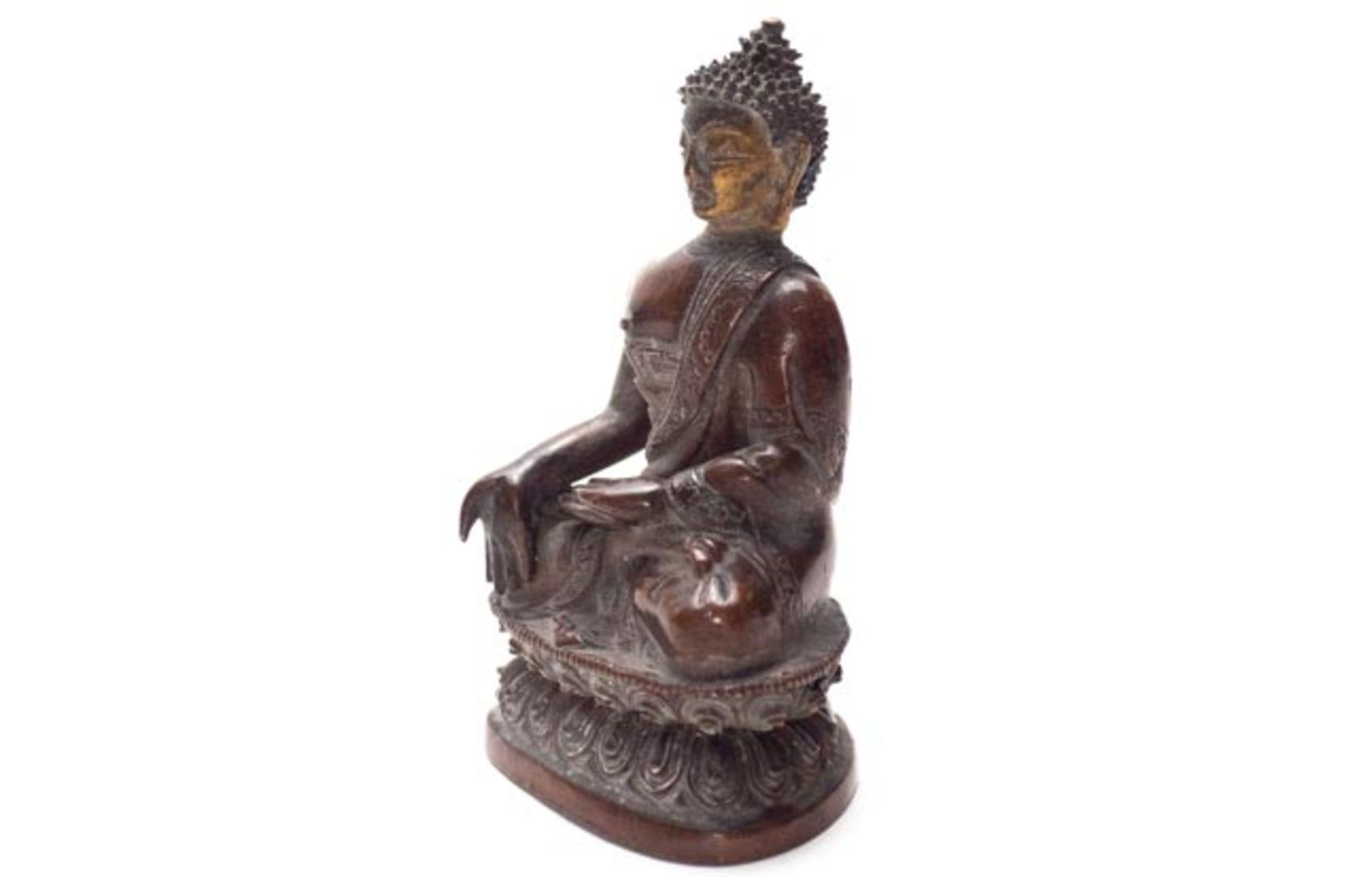 Bronze Buddha - Image 2 of 6
