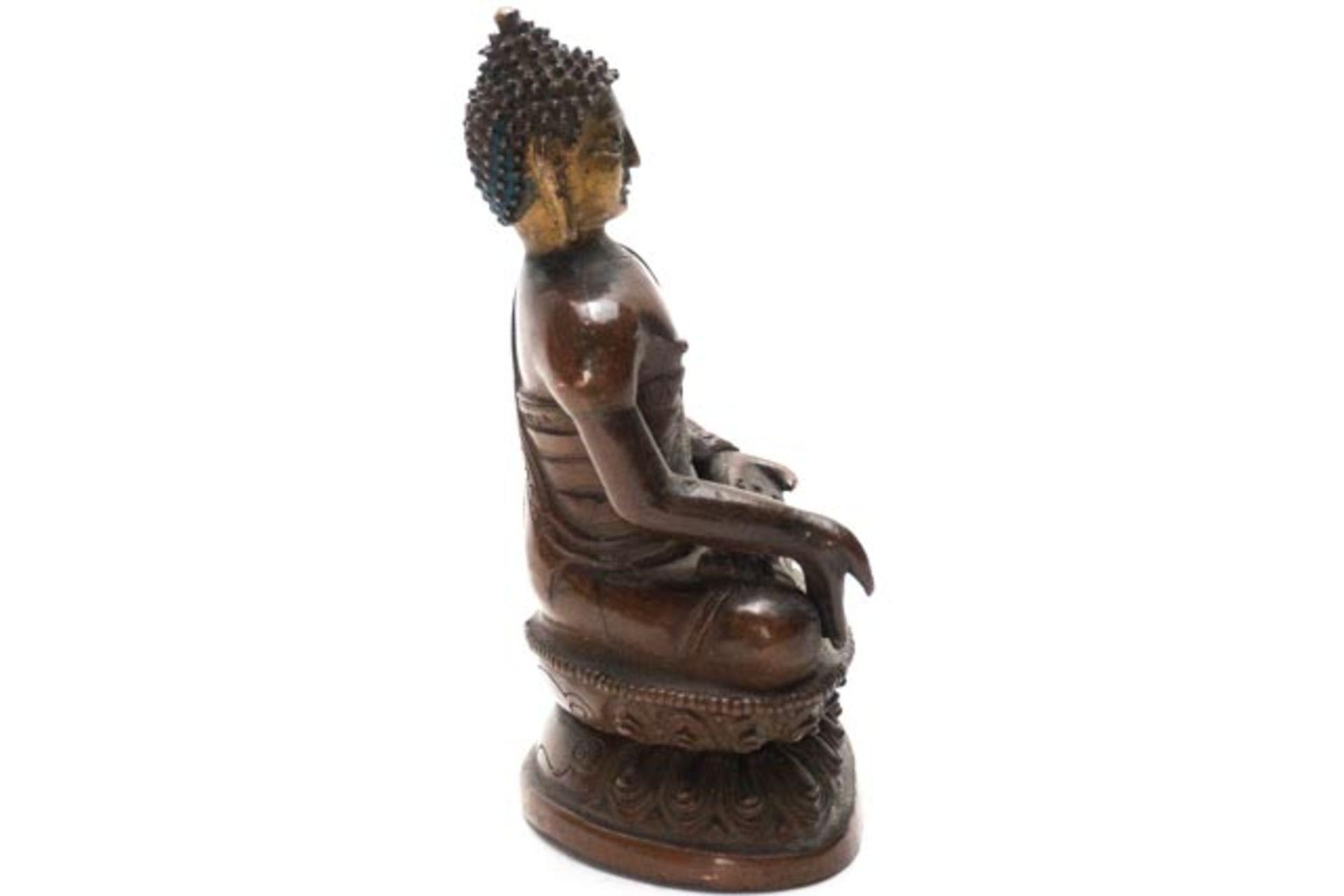 Bronze Buddha - Image 4 of 6