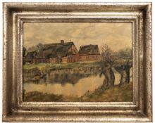 Gemälde Norddeutsche Landschaft.