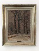 "Gemälde ""Winterlandschaft"" Alphons Stengelin"