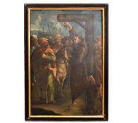"Monumentales Gemälde ""Folter"""