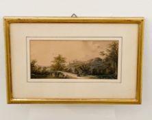 """Aquarell """"Landschaft"""""""