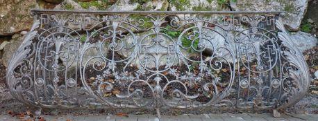 Barocker Prunk-Balkon,Eisen, 18. Jh.