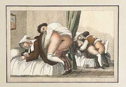 Colorierte Grafik Erotika Szene 5 von 6
