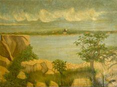 """Gemälde """"Seelandschaft"""""""
