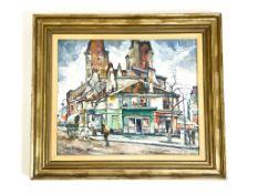 """Gemälde """"Pariser Stadtansicht"""""""
