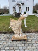 "Marmor-Figur ""Jugendstil Tänzerin"""