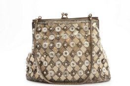 Jugendstil evening bag/glitter bag