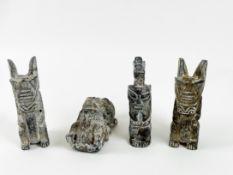 Konvolut Fruchtbarkeitsfiguren/Ritualfiguren