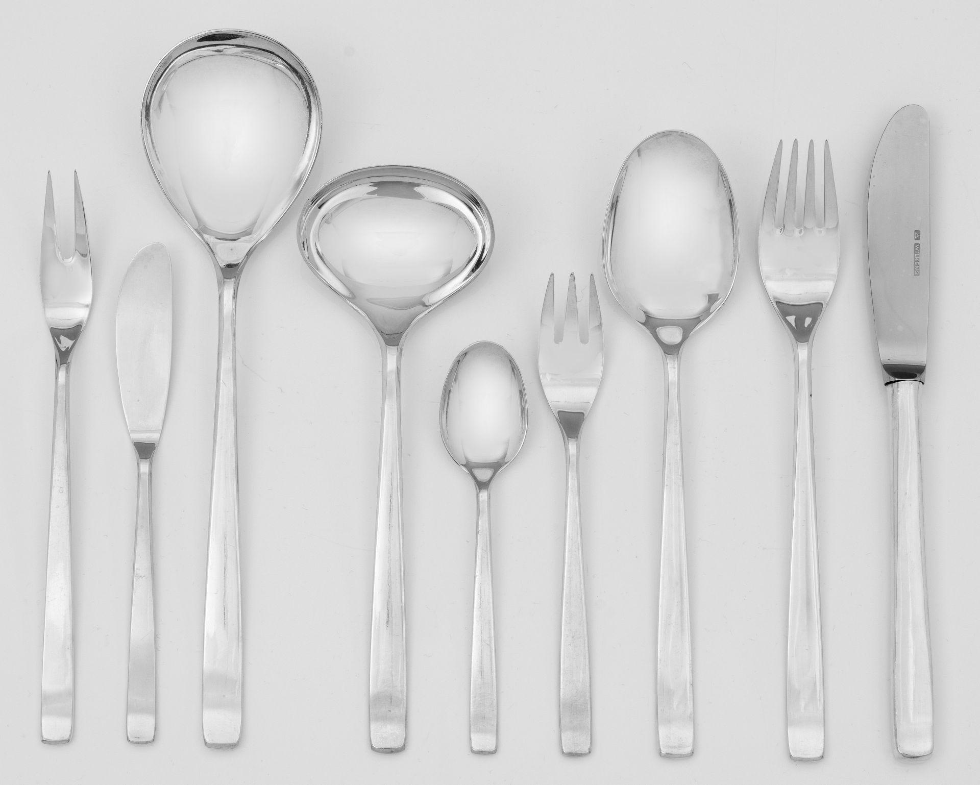 """Modernes Speisebesteck """"Cantone"""" für 12 Personen"""