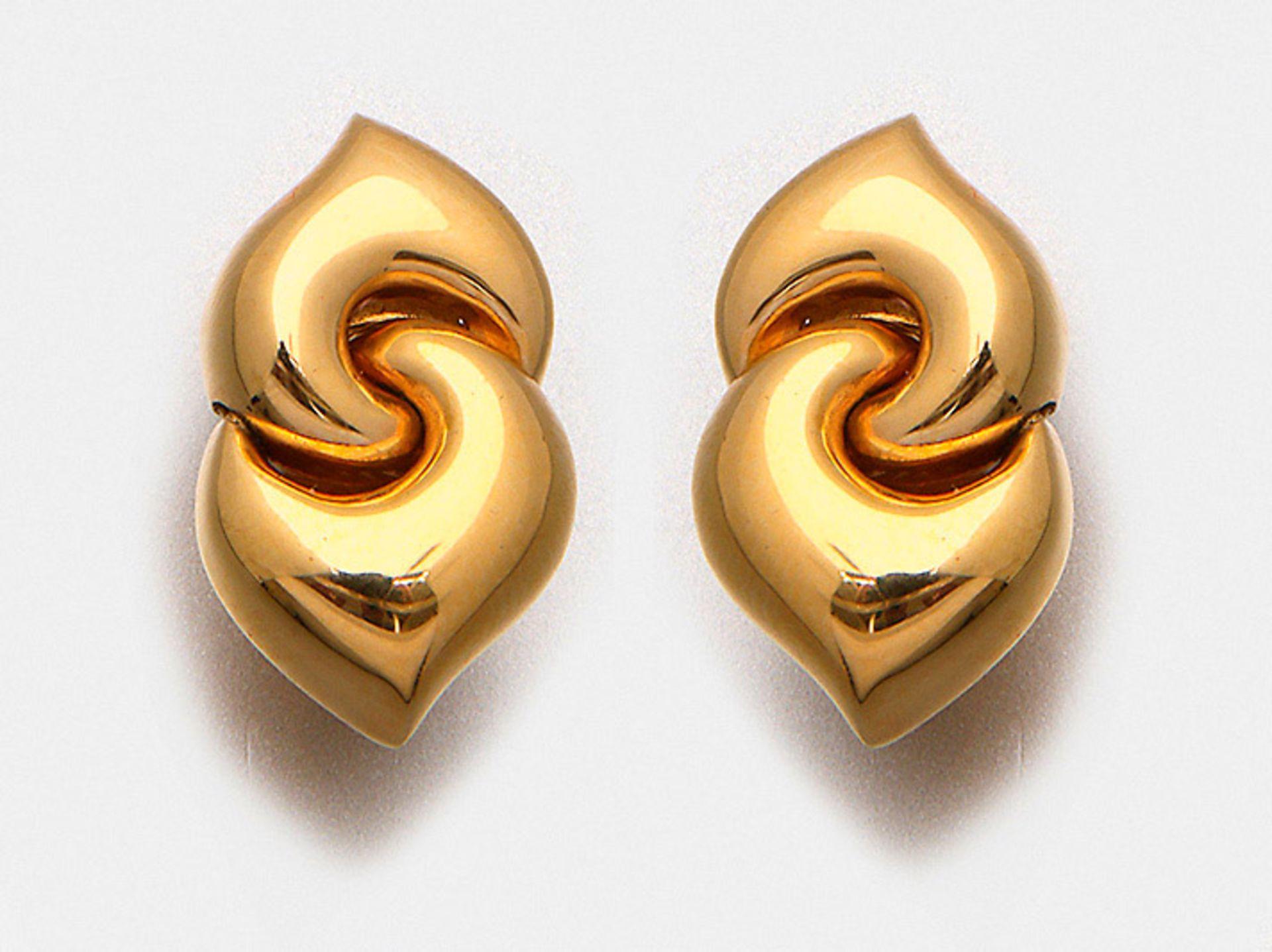 """Paar BVLGARI-Ohrringe aus der Kollektion """"Doppio Cuore"""""""
