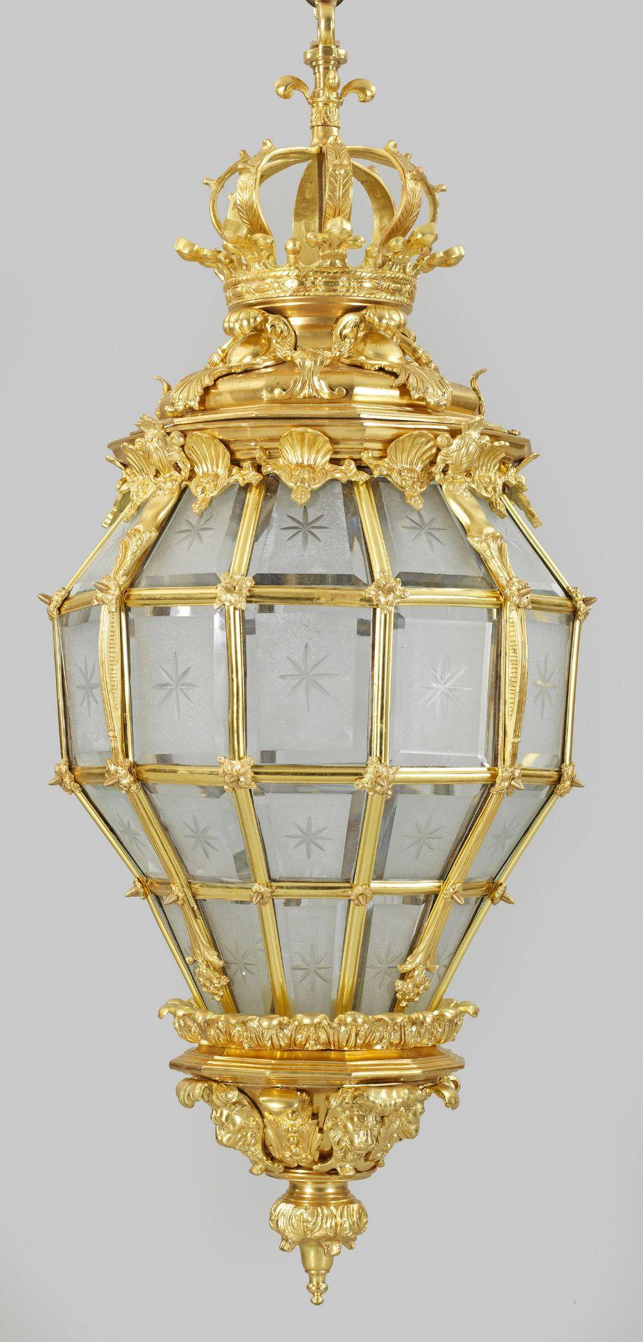 Prachtvolle Louis XVI-Deckenampel