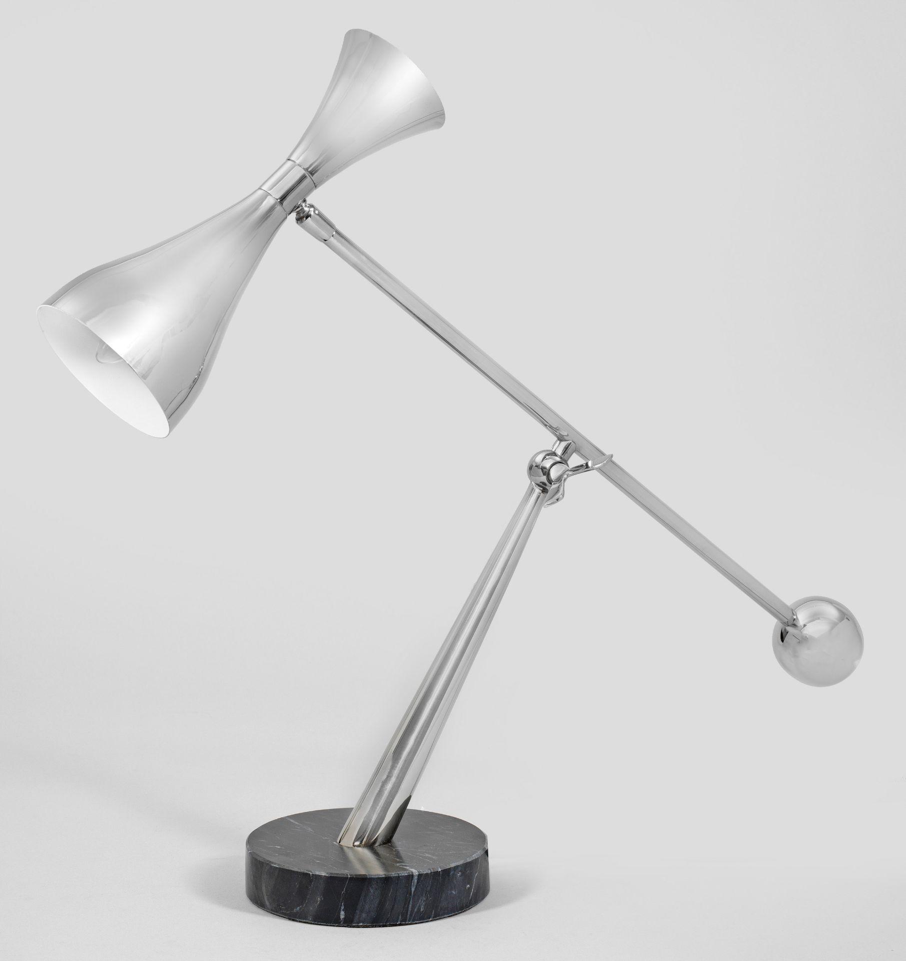 Tischlampe im Mid Century-Stil