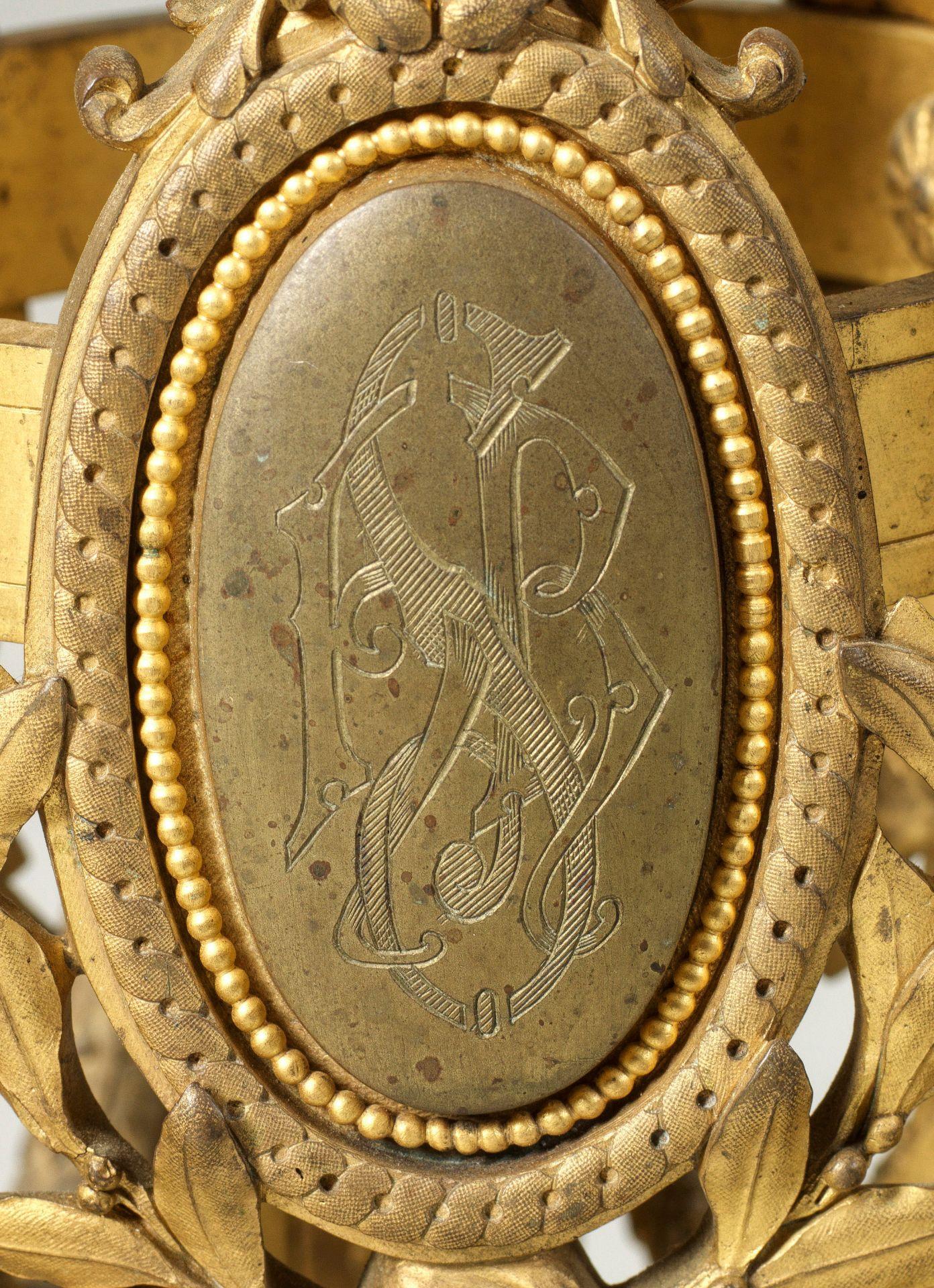 Große Louis XVI-Prunkgirandole - Bild 2 aus 2