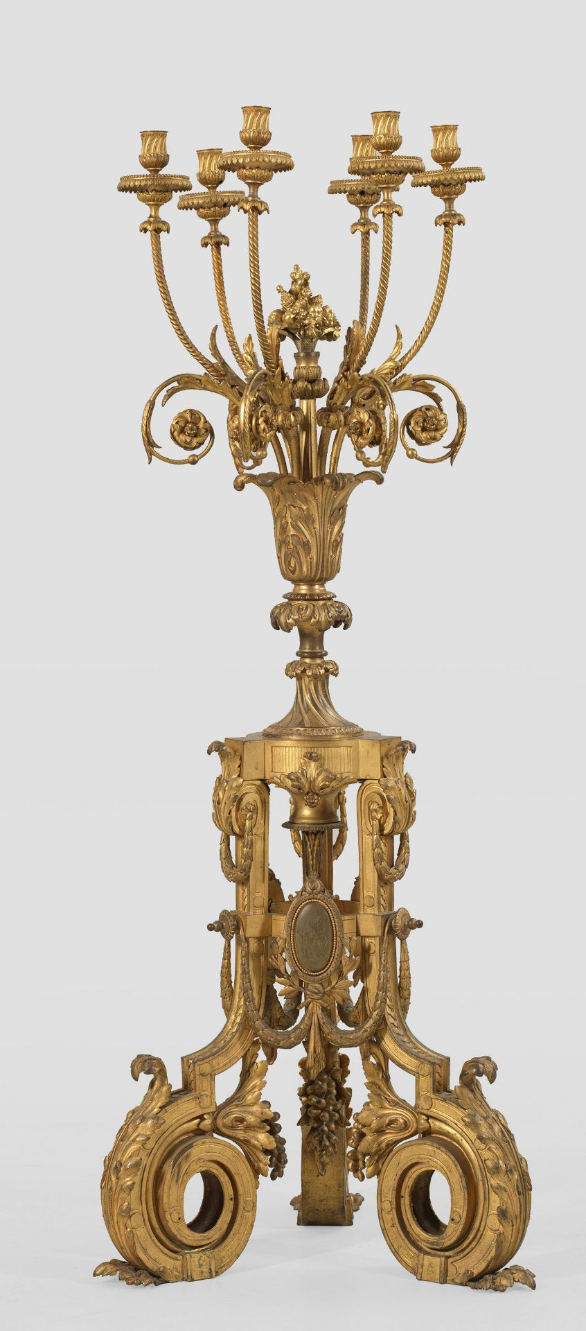 Große Louis XVI-Prunkgirandole