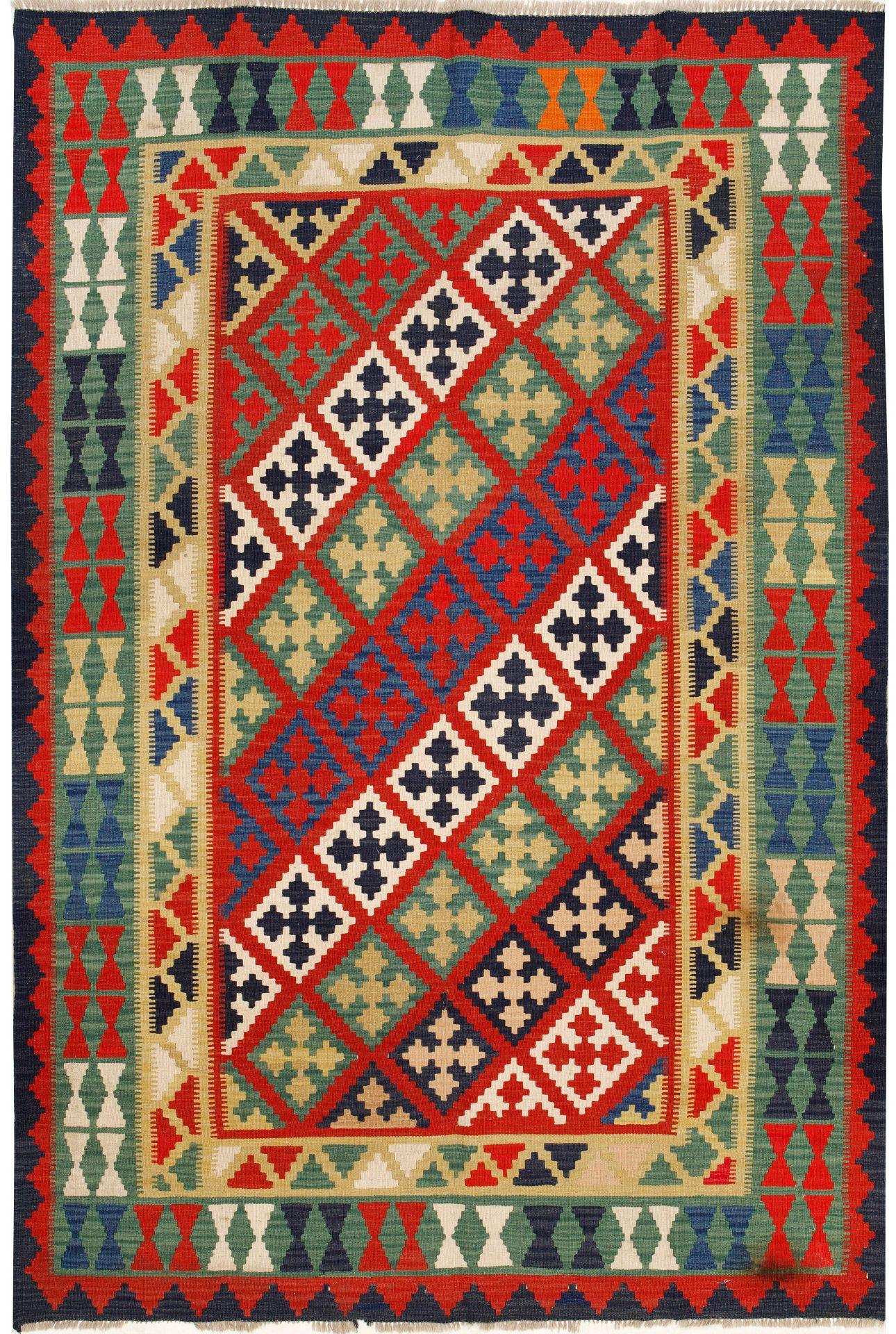 Quashgai-Kelim-Teppich