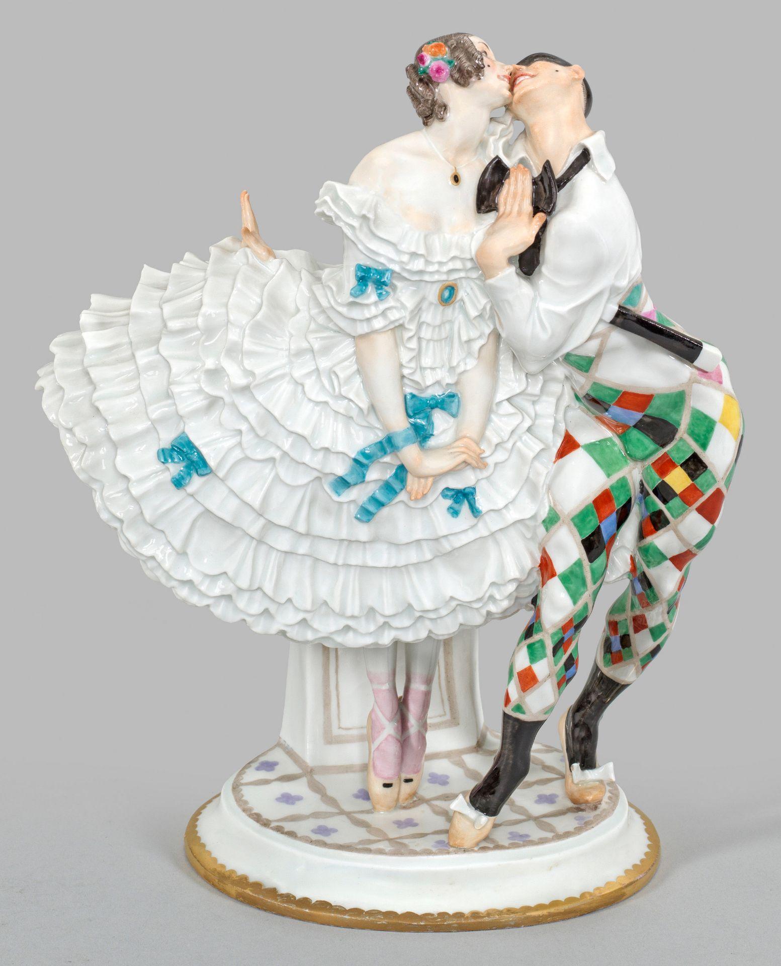 """""""Harlekin und Columbine"""" aus dem Russischen Ballett"""