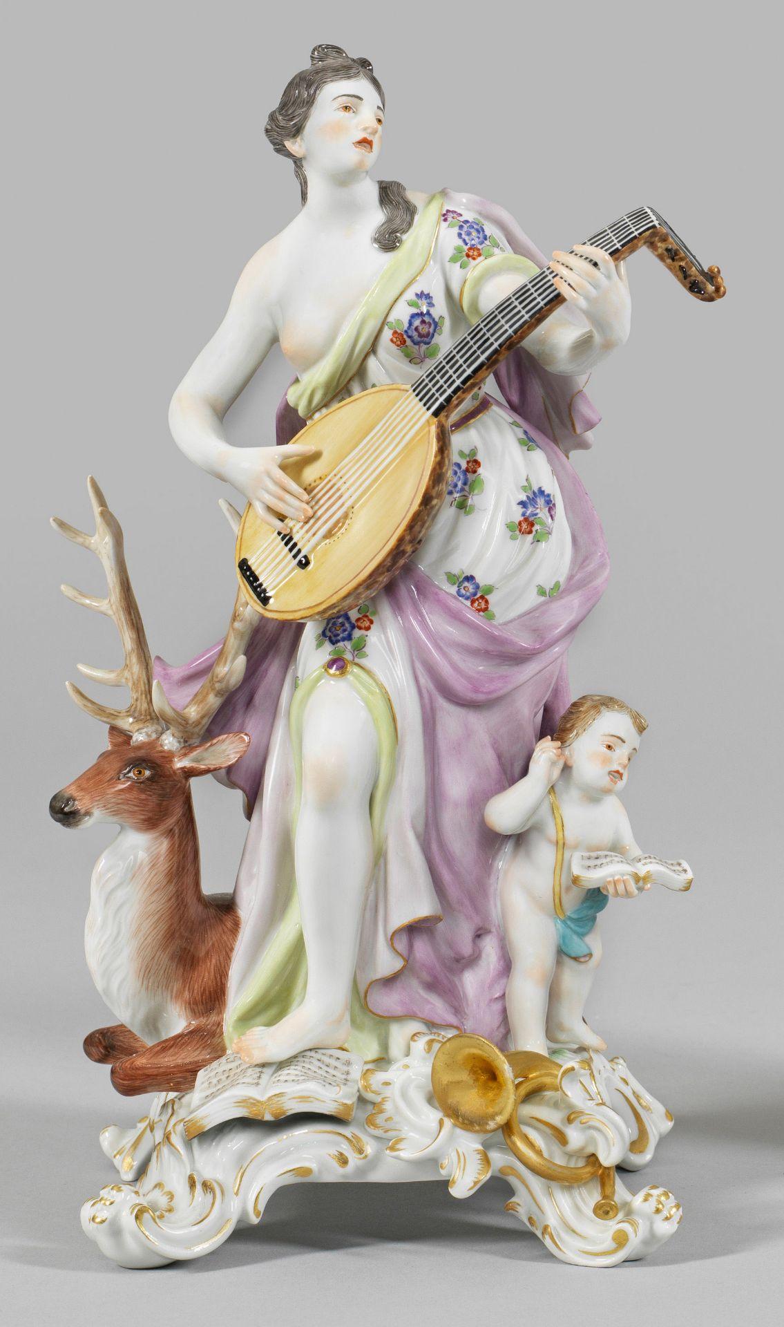 """Allegorische Figur """"Das Gehör"""". Originaltitel"""