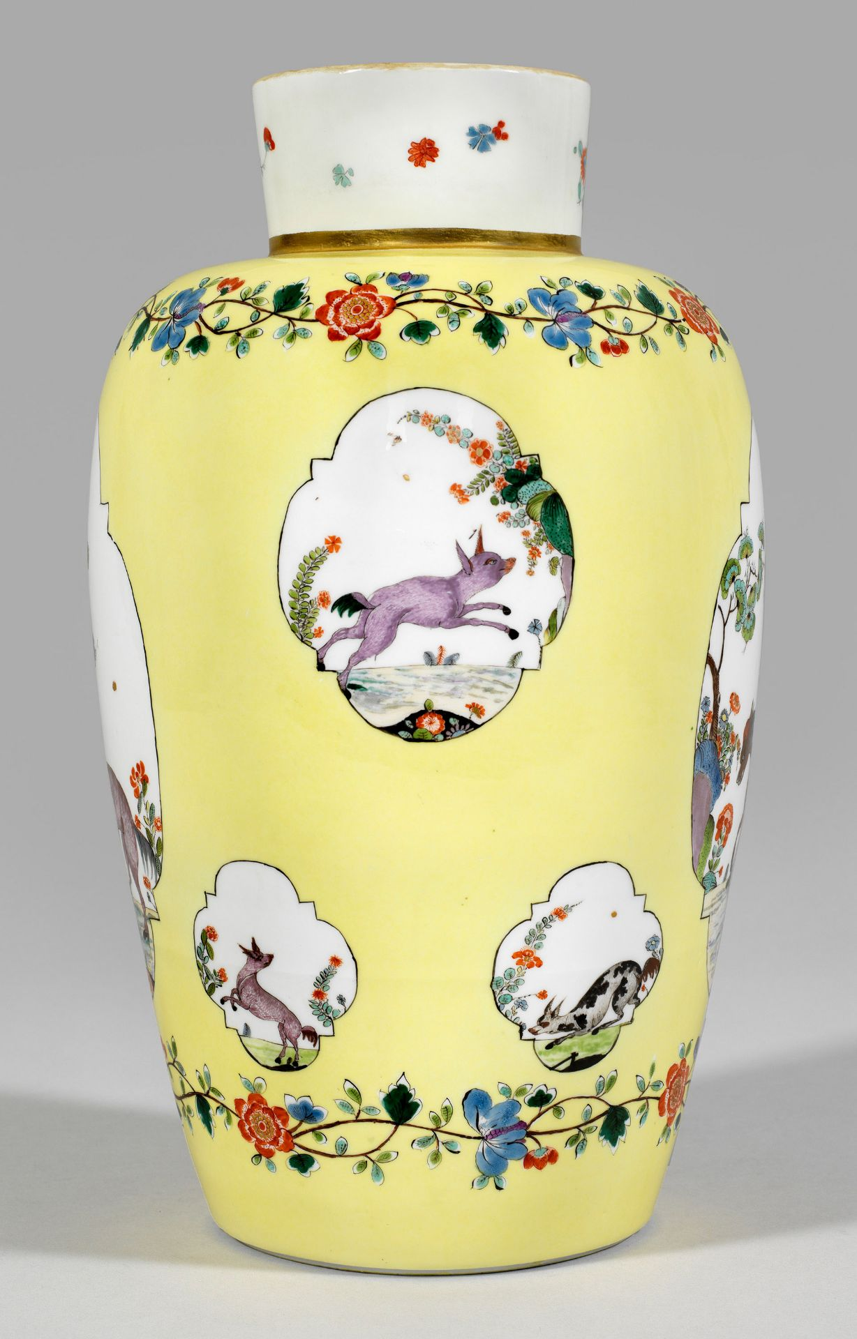 """Bedeutende museale """"Augustus Rex""""-Vase mit Fabeltierdekor - Bild 4 aus 5"""