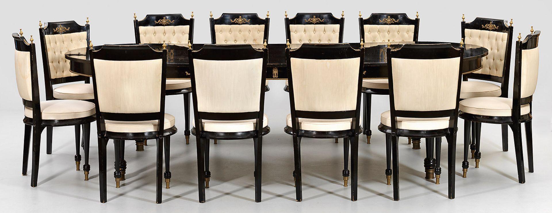 Große Napoleon III-Tischgruppe - Bild 2 aus 2