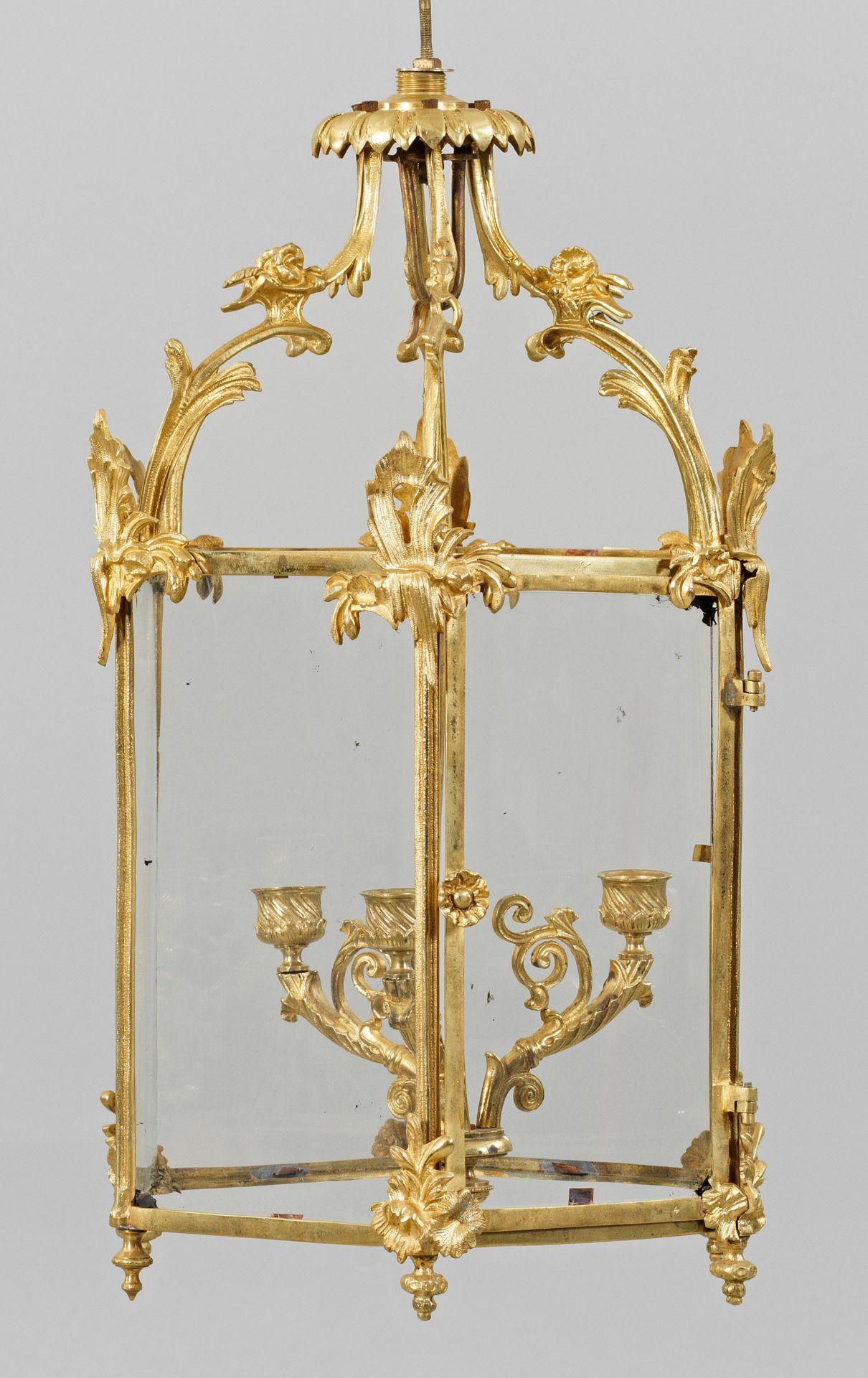 Kleine Louis XV-Deckenampel