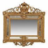 Großer Belle Epoque Salonspiegel