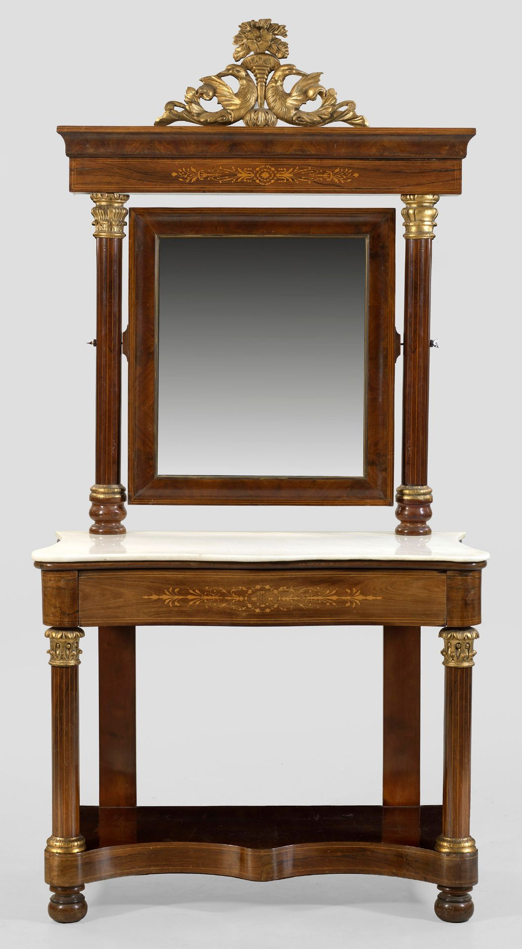 Großer Louis Philippe-Spiegeltisch