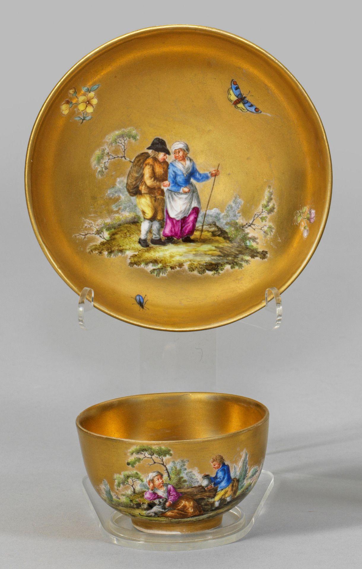 Goldfond-Tasse - Bild 2 aus 2