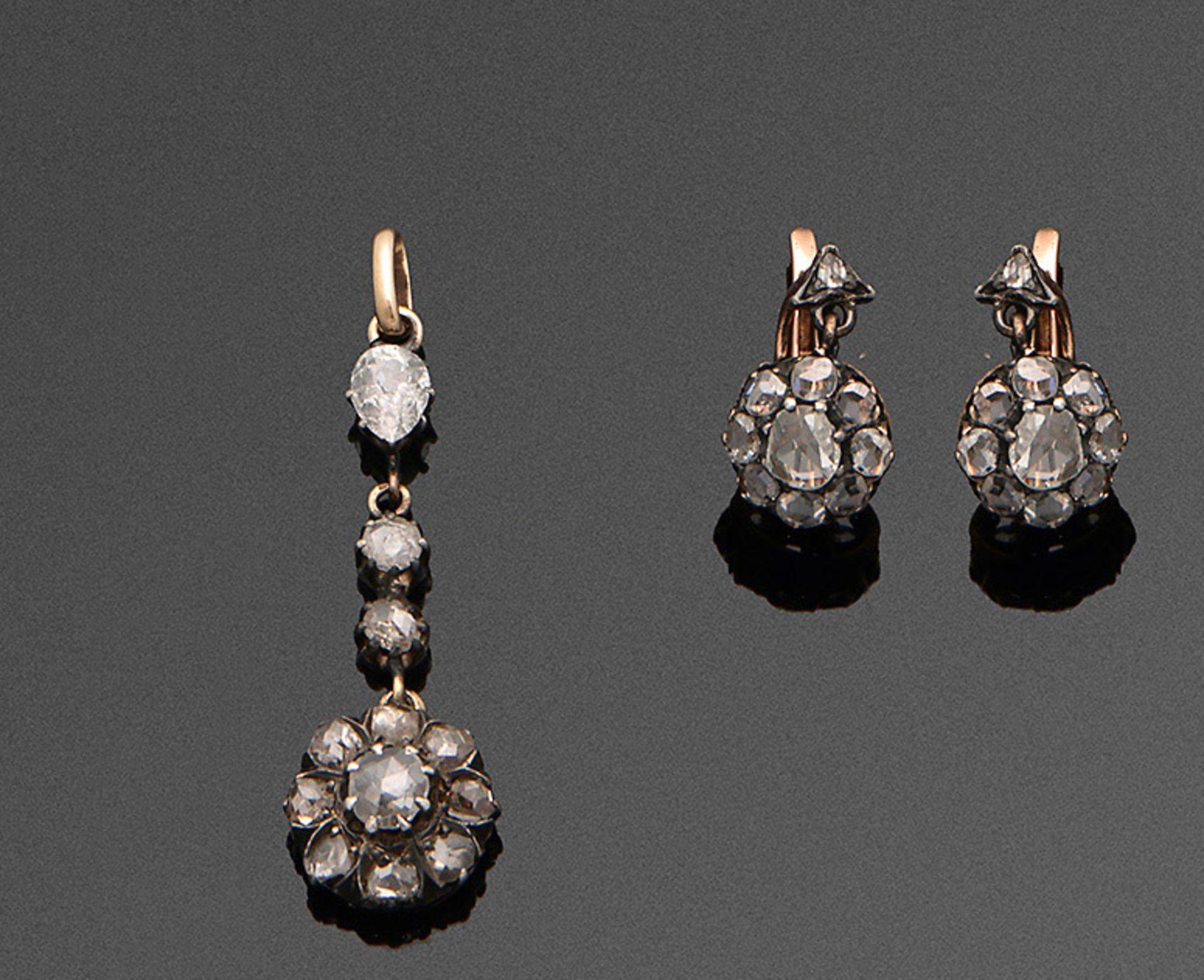 Belle Epoque-Diamant Parure