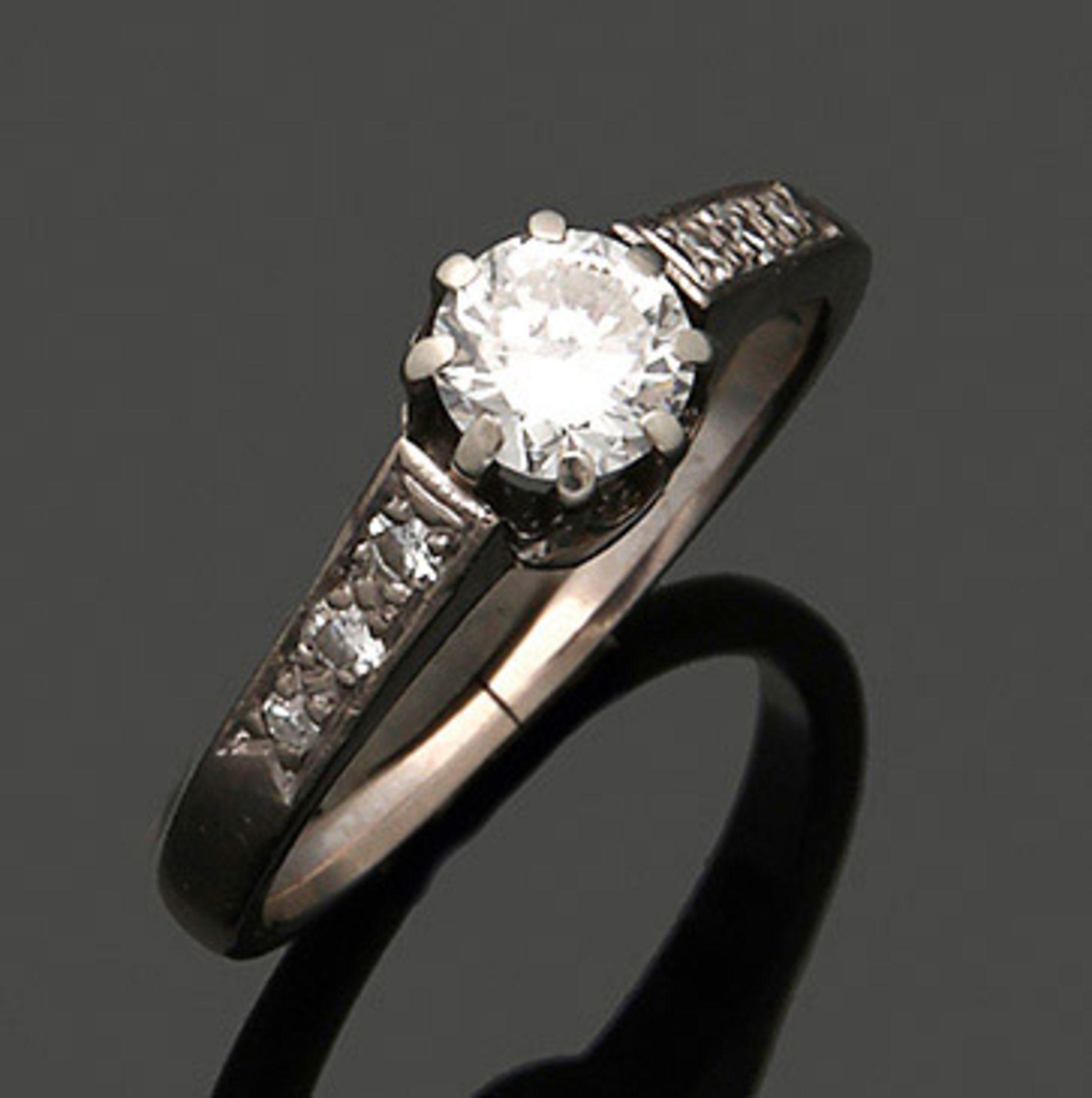 Diamant-Solitärring
