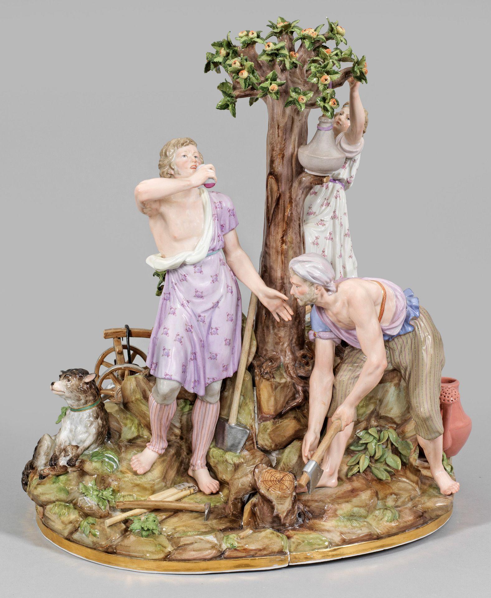 Große allegorische Figurengruppe