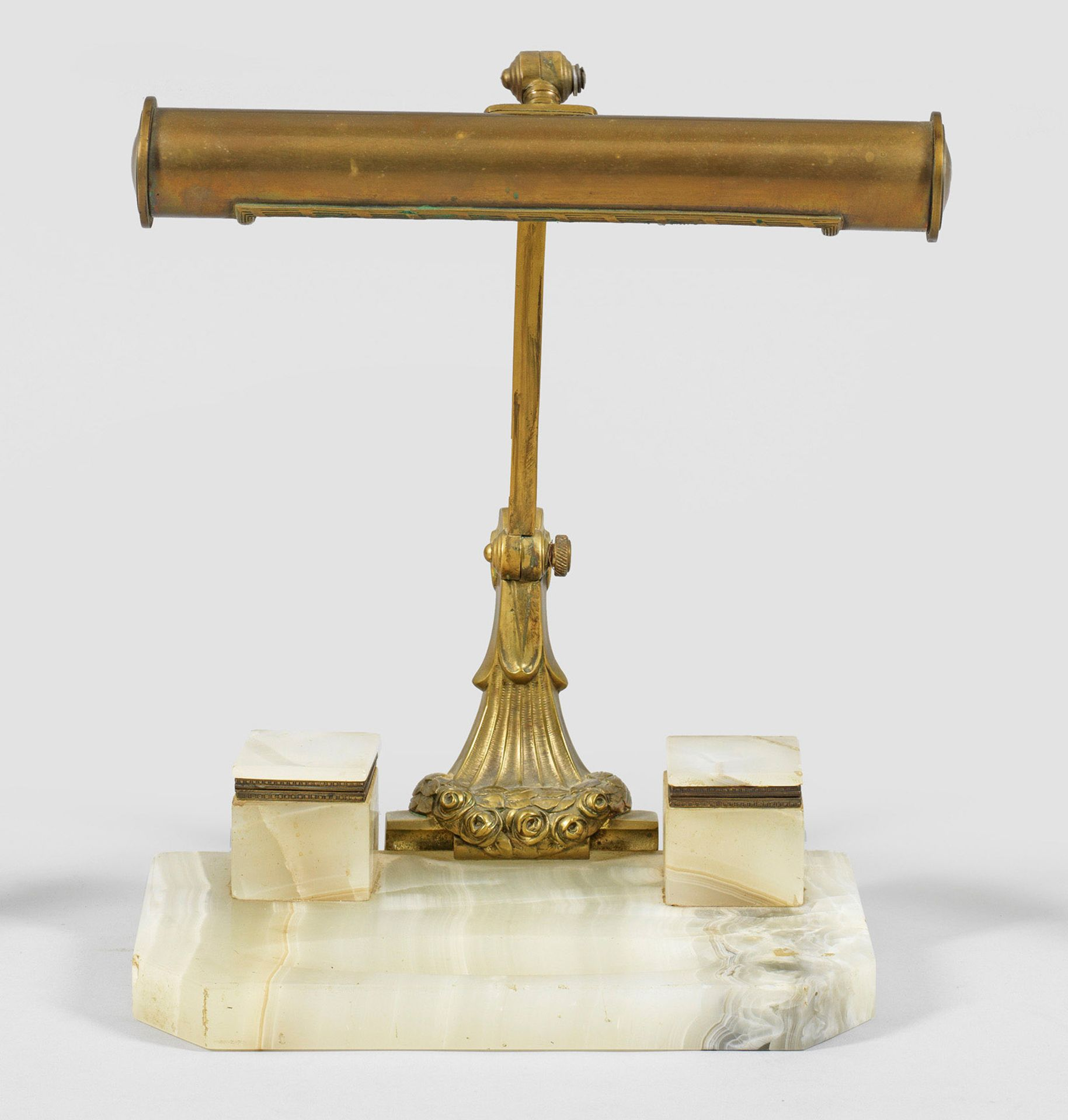 Jugendstil-Schreibtischlampe