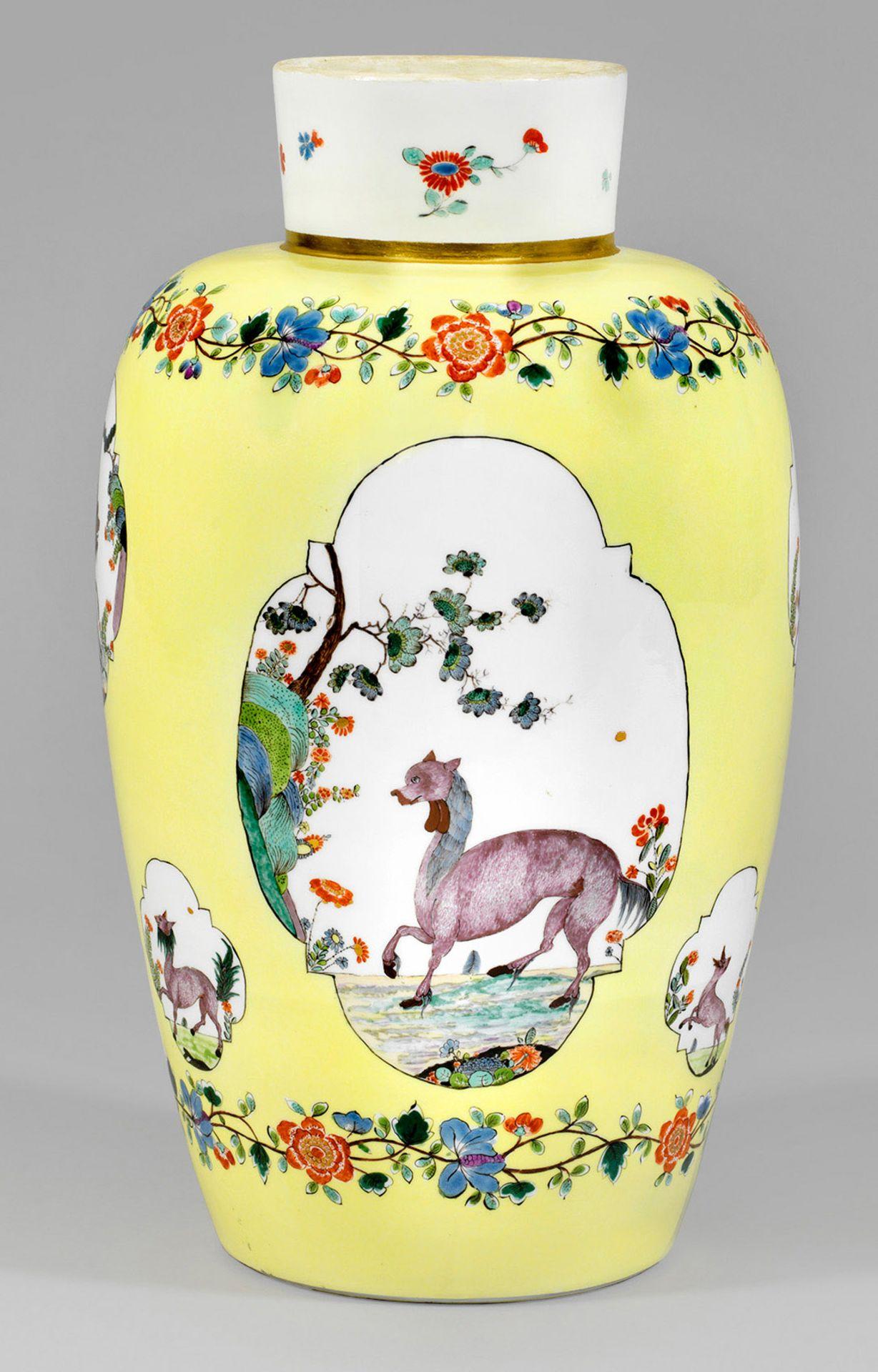 """Bedeutende museale """"Augustus Rex""""-Vase mit Fabeltierdekor - Bild 5 aus 5"""
