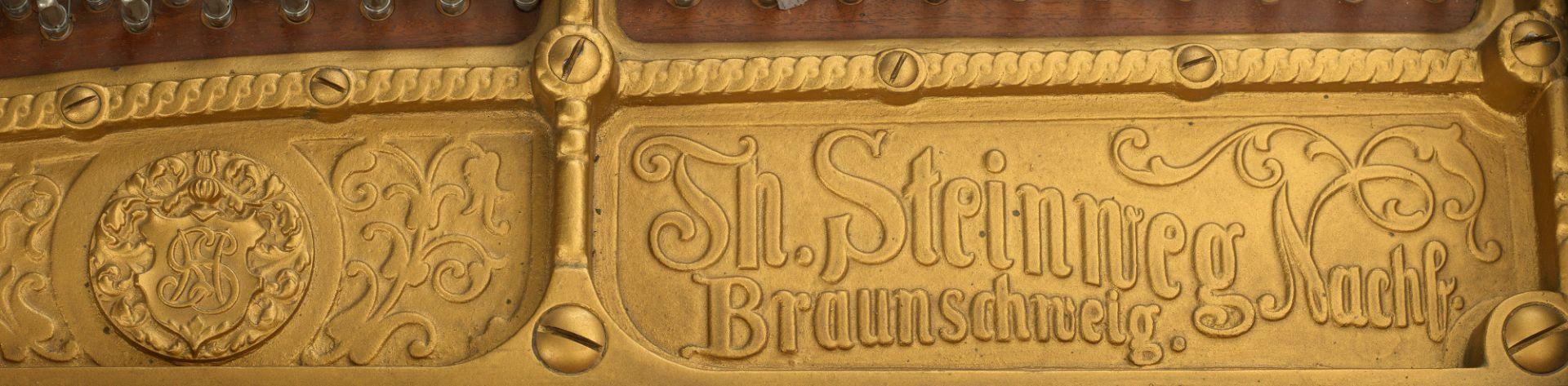 Halbkonzertflügel von Steinweg Nachfolger - Bild 3 aus 4