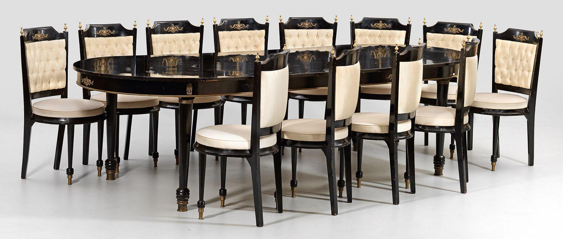 Große Napoleon III-Tischgruppe
