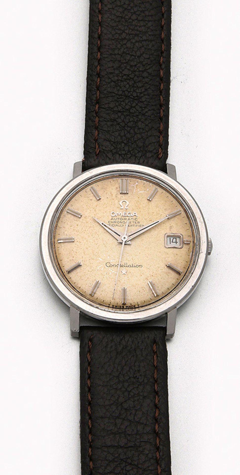 "Omega-Herrenarmbanduhr ""Constellation"" aus den 60er Jahren"