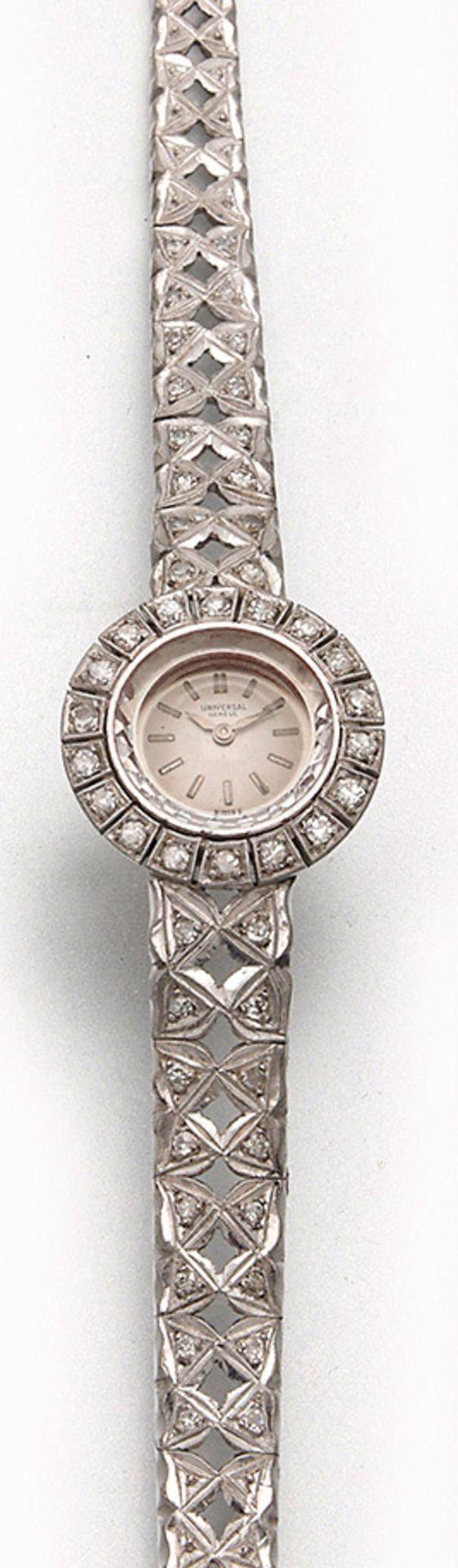Universal Geneve-Damenarmbanduhr aus den 40er Jahren