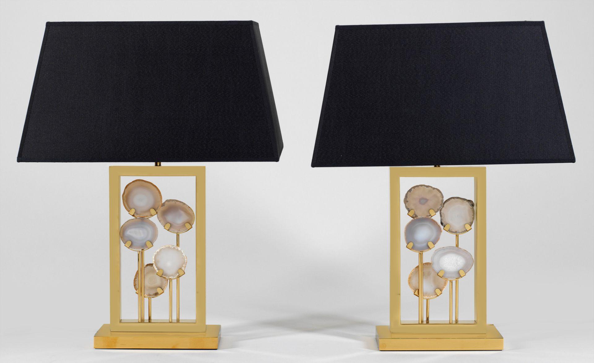 "Paar extravagante Tischlampen ""Margiela"""