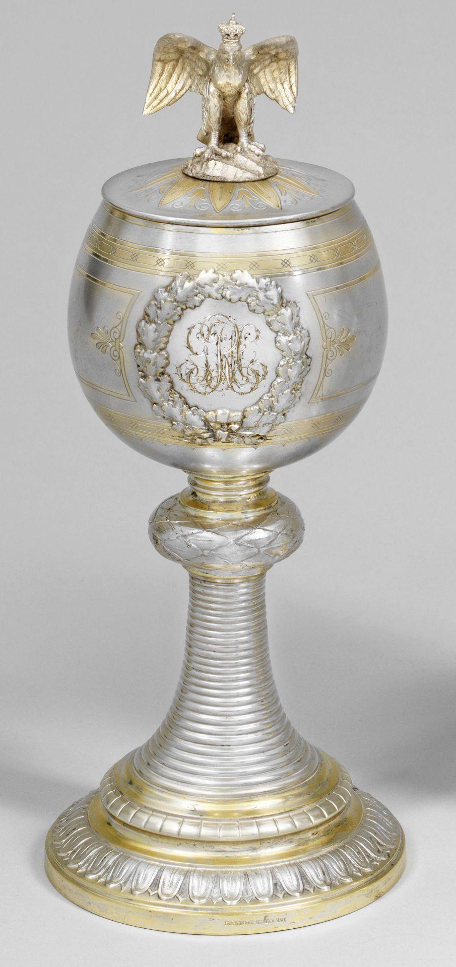 Großer preußischer Andenken-Pokal - Image 2 of 2