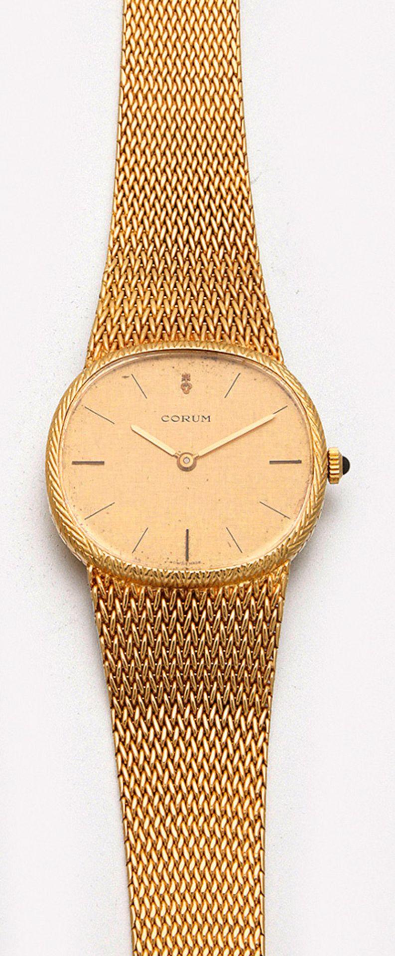 CORUM-Herrenarmbanduhr aus den 80er Jahren