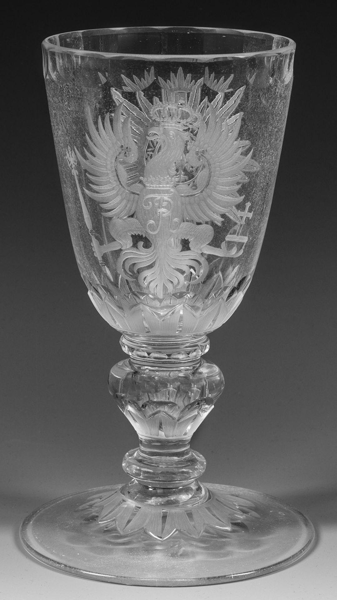 Potsdamer Barock-Pokal mit preußischem Adler und Ordensstern