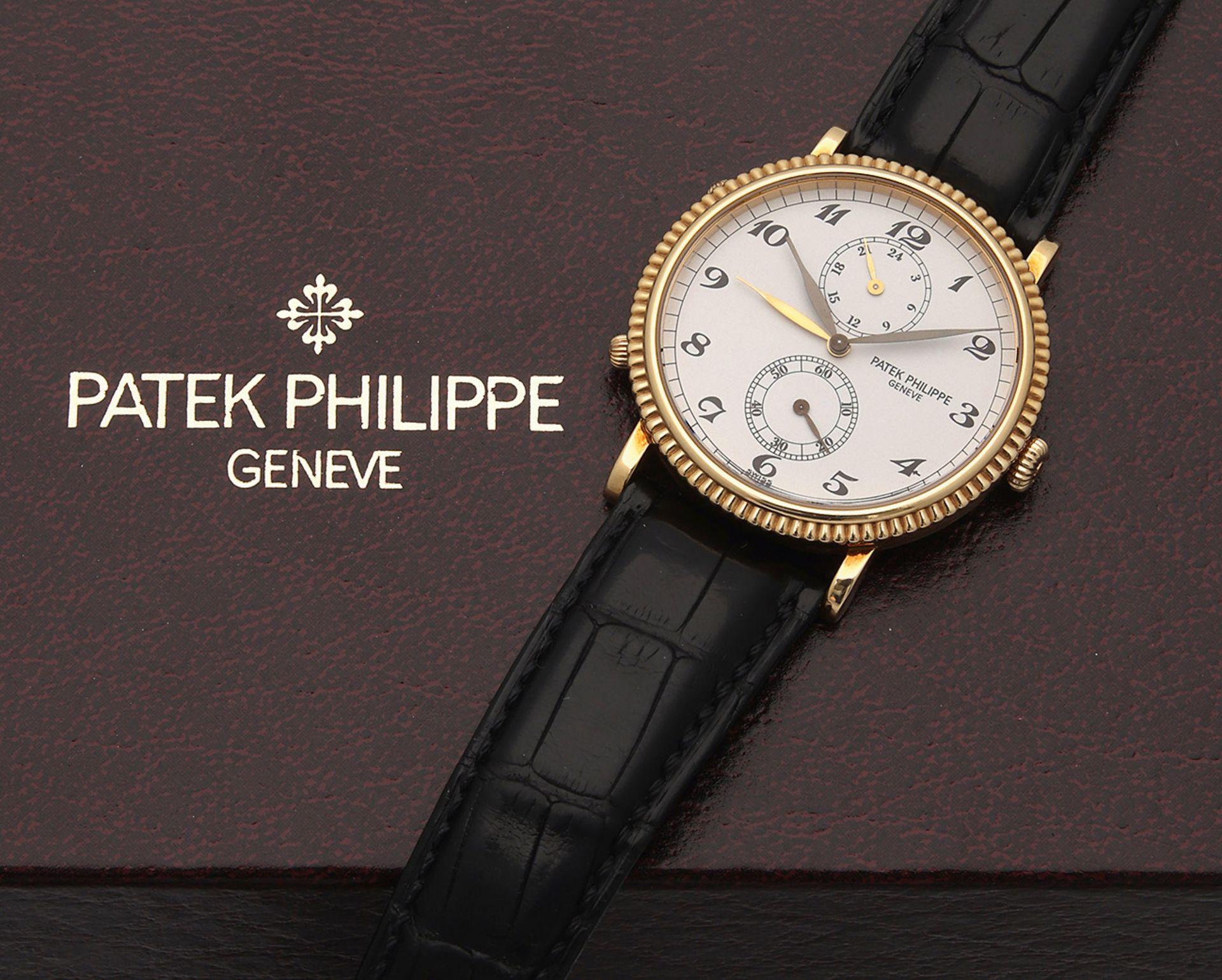 "Patek Philippe-Herrenarmbanduhr ""Travel Time"" von 2000"