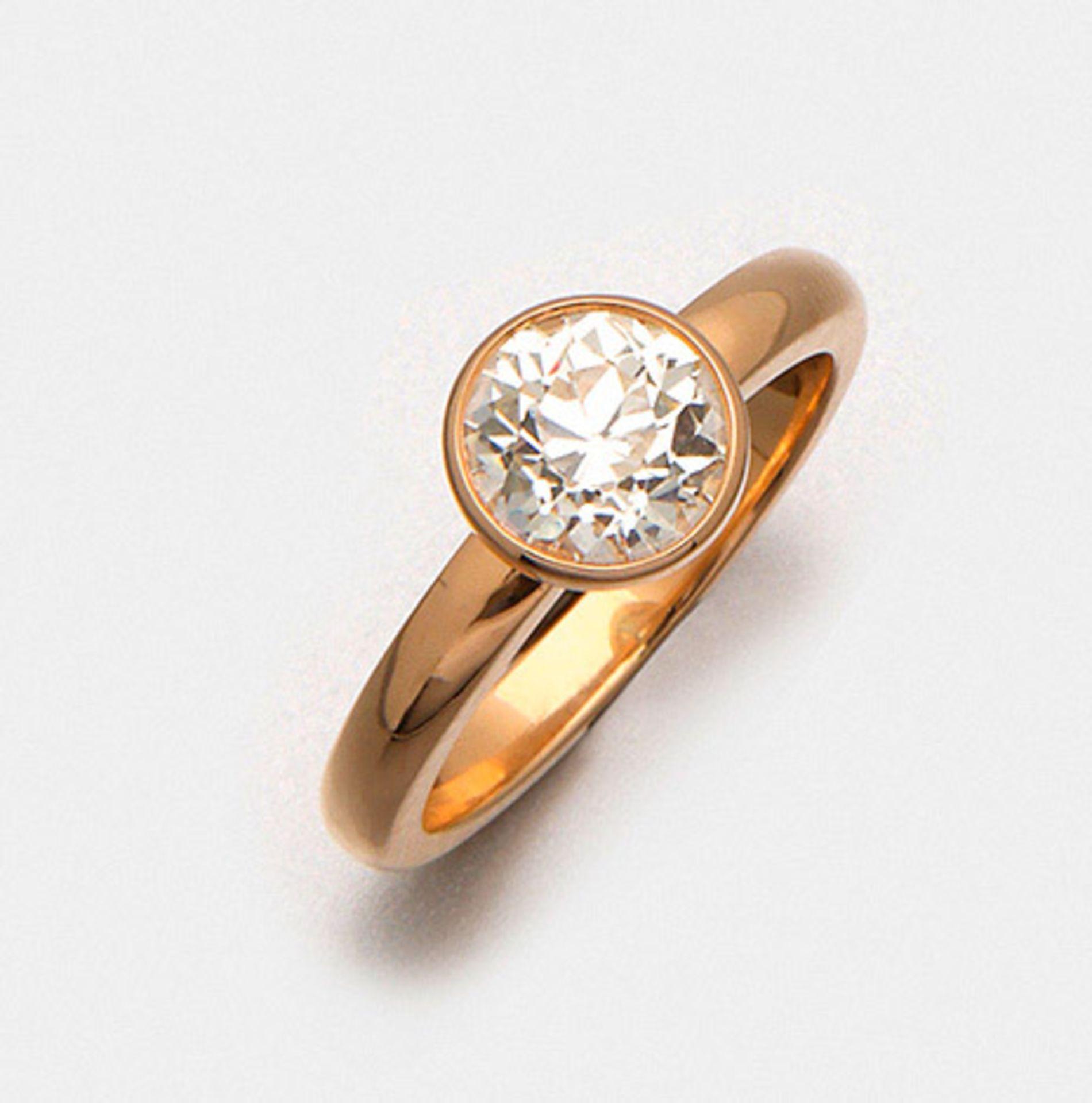 Klassischer Diamant-Solitärring